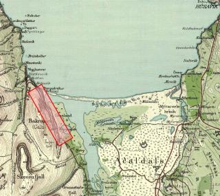 kort af Kaldakinn